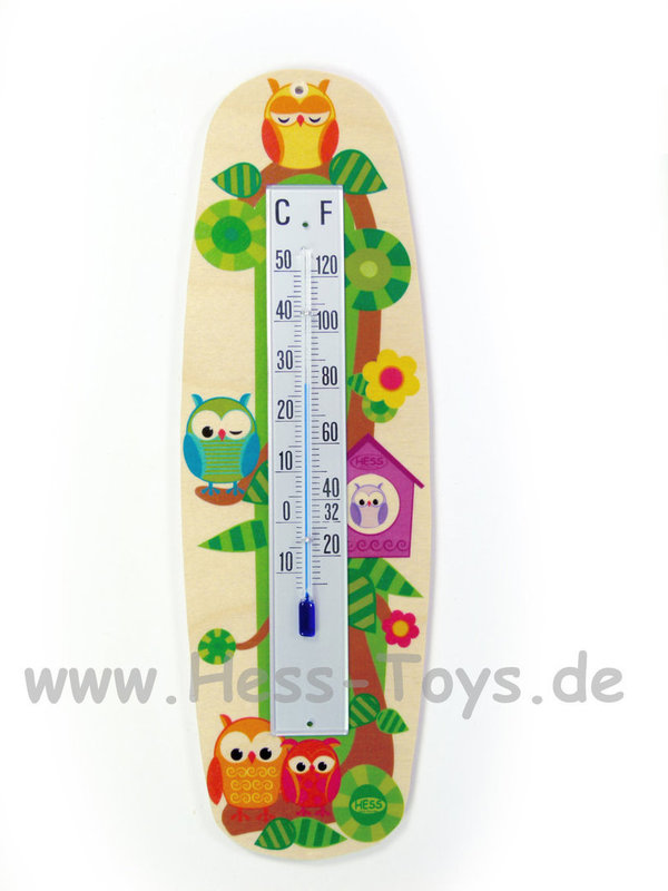 Thermometer Eulen