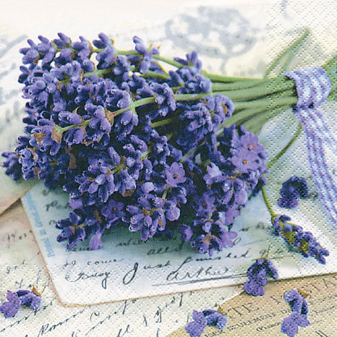 'Lavender Greetings' (211384) Servietten