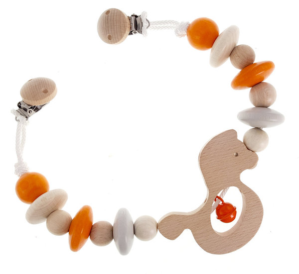 Wagenkette Pferdchen, nature orange